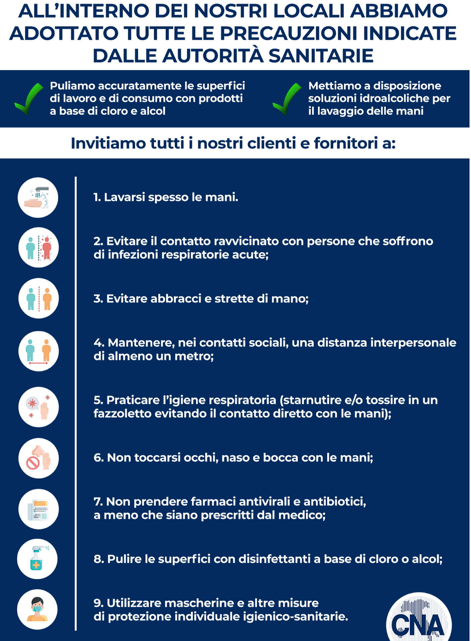 Regole per Coronavirus ESCAPE='HTML'